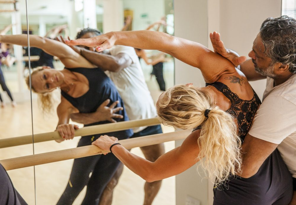 Barre Technique at Garuda Studio with James D'Silva