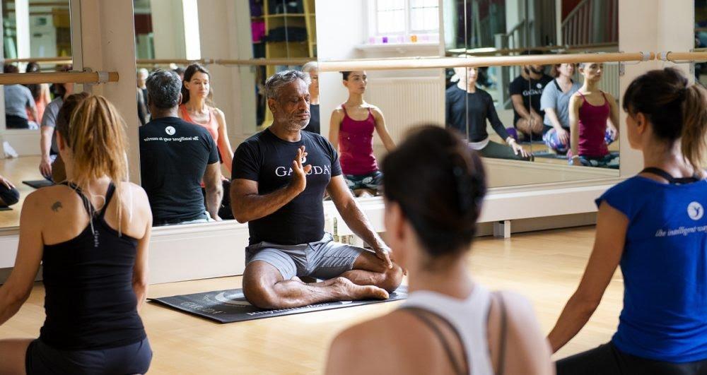 The Garuda Pranayama Exercise